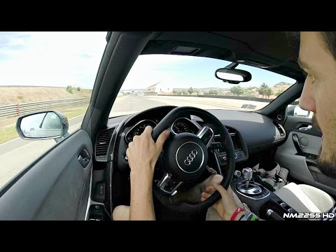 2014 Audi R8 V10 - Will It Drift? video