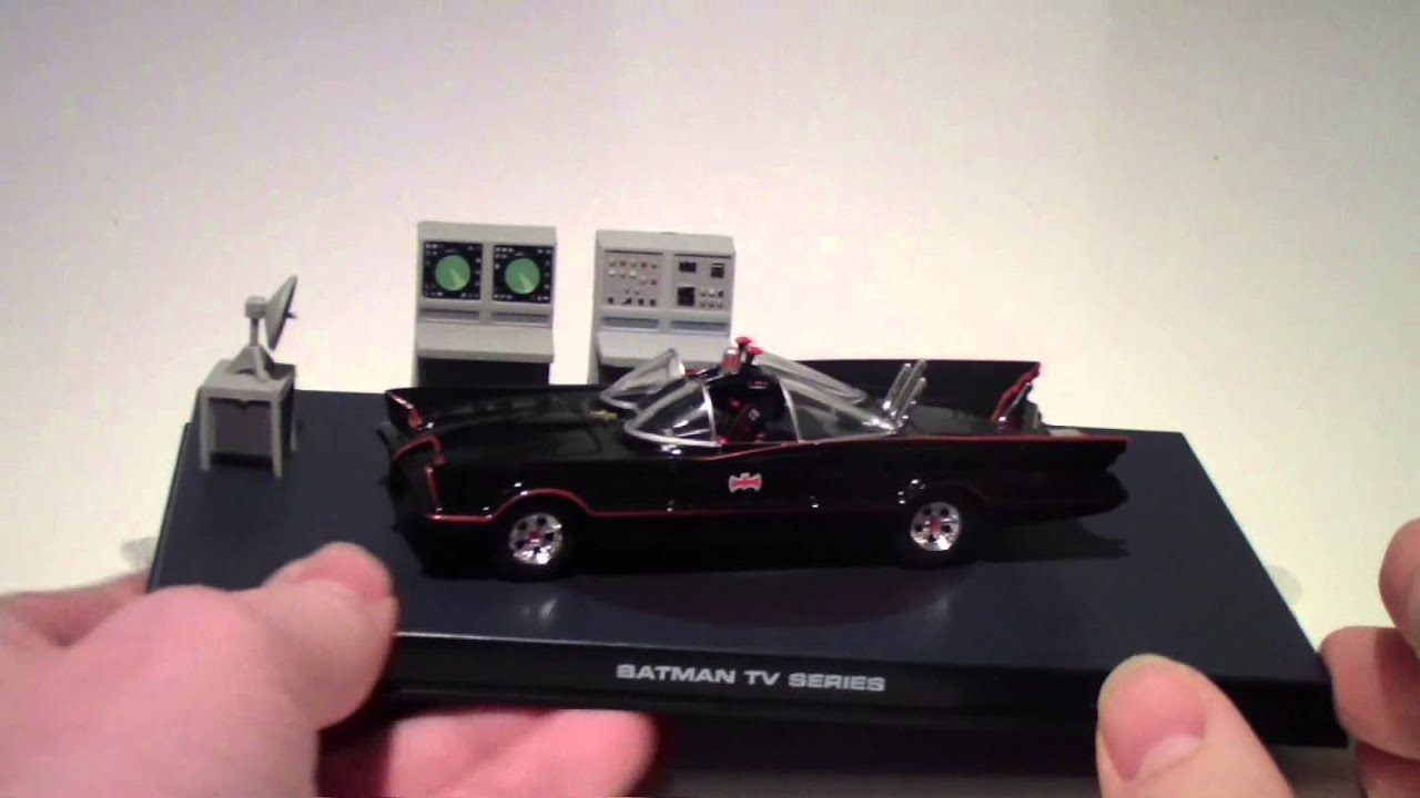 Eaglemoss Automobilia Review: 1966 Batmobile - YouTube