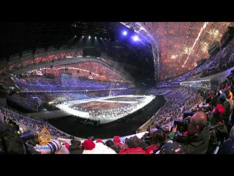Sochi 2014: Winter Olympics opens with glittering ceremony