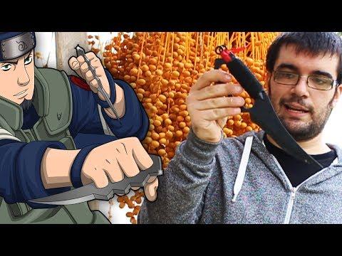 Il coltello del Maestro Asuma (Naruto) e come fare i Lanci Piatti
