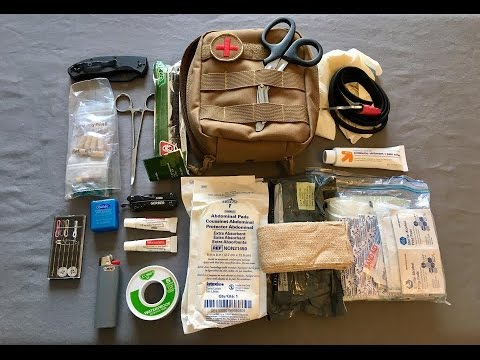 Build a Medical Field Trauma Kit