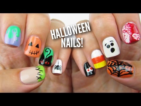 10 Halloween Nail Art Designs: The Ultimate Guide #2!