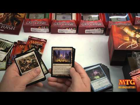 Magic The Gathering Gatecrash Fatpack Opening & First Review