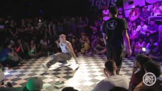 Intact vs Kid Glyde - Footwork Quarterfinals Outbreak Hiphop Festival 10-Year Anniversary