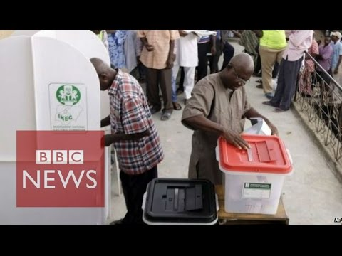 Nigeria election: US and UK warn of vote-rigging - BBC News