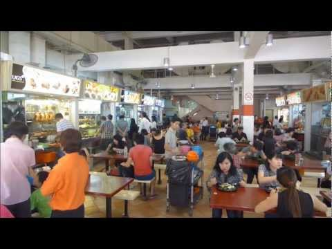 singapore albert centre food court 2012