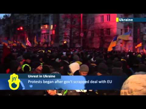 Pro-EU protests continue in Kiev: Ukraine's opposition demands resignation of President Yanukovych