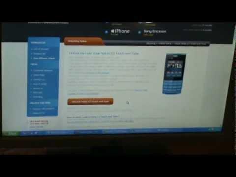 How to unlock Nokia X3 whit sim-unlock.net