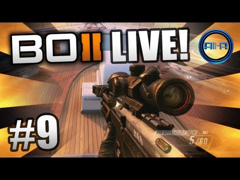 """HIJACKED HEAVEN"" - BO2 LIVE w/ Ali-A #9 - Black Ops 2 Multiplayer Gameplay"