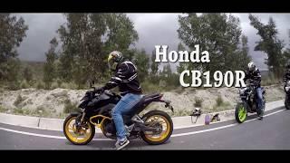 Honda CB190r vs Susuki Gixxer SF 150 (Piques/Arrancones)