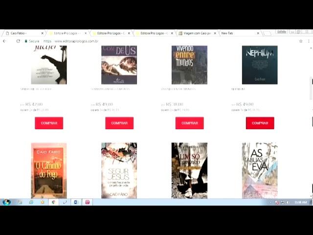 Nova loja do site caiofabio.net - Muita coisa boa para você dar de presente neste natal.