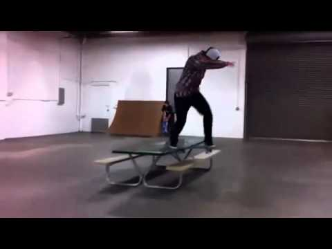 Shane o'neill sw flip bs tail picnic table