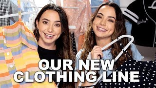 Our New Clothing Line! TRUE IMG - Merrell Twins