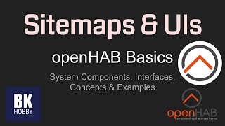 openHAB 2 Basics - Sitemaps and User Interfaces
