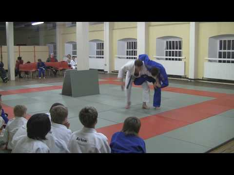 Judo techniques demonstration in Fudoshin Judo Club (Konstantin Semenov & Valery Vanyukevich). Image 1