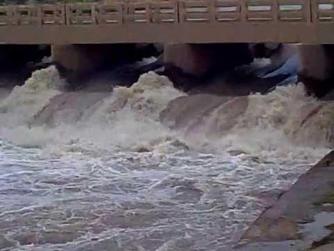 Flooded Nandipur Canal, Gujranwala by Rana Usman