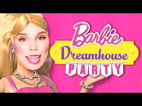 The BARBIE DREAM HOUSE PARTY gameplay!