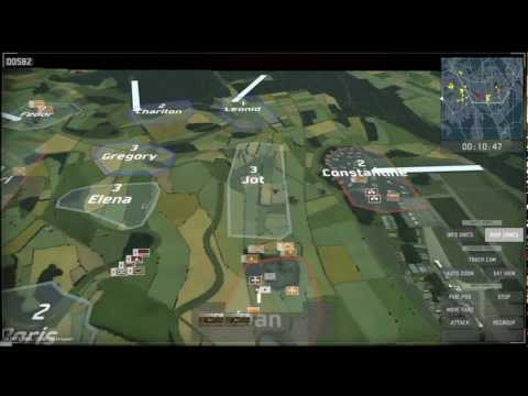 WarGame: European Escalation -  Multiplayer Gameplay
