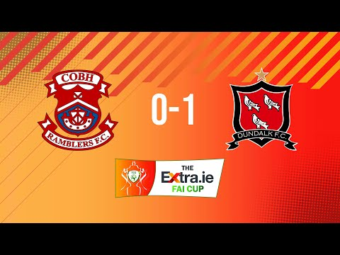 Extra.ie FAI Cup First Round: Cobh Ramblers 0-1 Dundalk