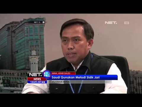 Jumlah Korban Meninggal Jemaah Indonesia di Mina Menjadi 46 Orang - NET12