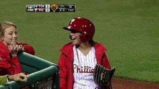 MLB Ball Girl Spectacular Moments ᴴᴰ