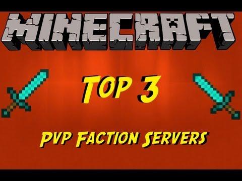 Minecraft: Top 3 PvP Faction Servers (1.7.2)