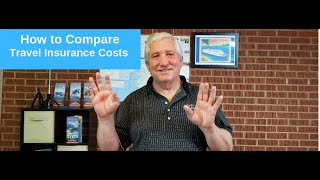 How to compare travel insurance costs