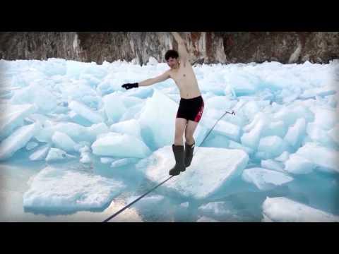 Поход по Байкалу #9. Опасный тонкий лед.