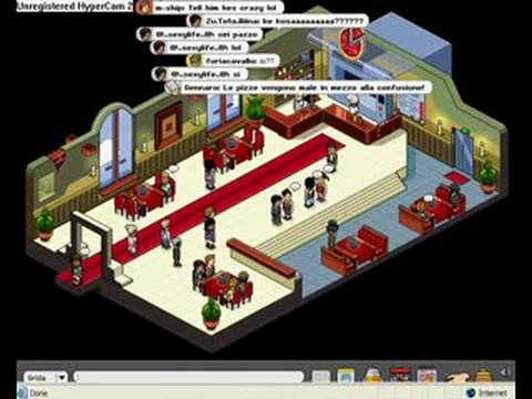 Habbo Hotel Tour 2008! Italy - Part 2