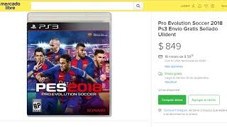Pro Evolution Soccer 2018 Ps3 Envío Gratis Sellado Ulident