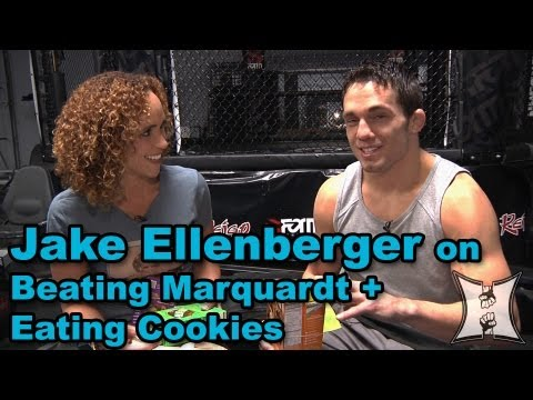 UFC 158's Jake Ellenberger on Marquardt Fight, GSP vs Nick Diaz + Girl Scout Cookies