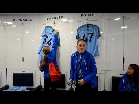 Žákyně FK Teplice v Manchesteru