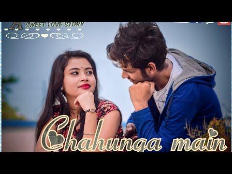 Chahunga_main_tujhe // A sweet love story // Abhishek & supriya //