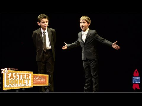 Newsies Performs at 28th Annual Easter Bonnet Competition