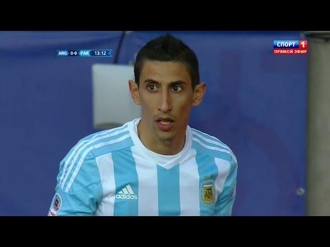 Angel di Maria vs Paraguay (N) Copa America 2015 HD 720p by Silvan