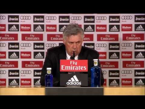 "Carlo Ancelotti: ""Es liegt Spannung in der Luft""   Real Madrid - CA Osasuna 4:0"