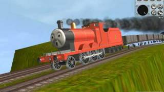 Thomas Trainz-James Down Hill