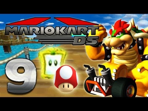 Let's Play Mario Kart DS Part 9: Pilz Cup Spiegel Modus