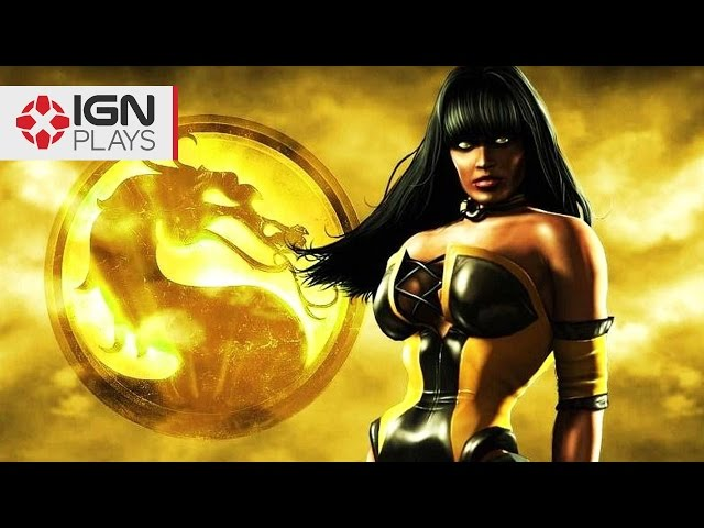 Mortal Kombat X: Tanya Mod Gameplay - IGN Plays