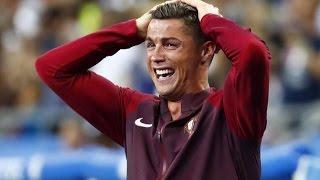Cristiano Ronaldo   Emotions   Portugal EURO2016 Final