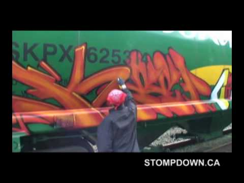 KEEP SIX - CRAVE - RUKIS - LESEN - SDK #329 - GRAFFITI FR8 Video