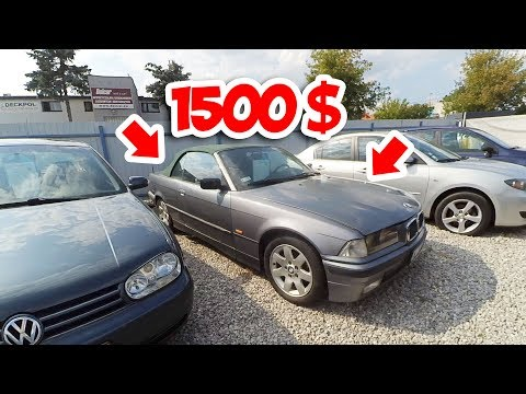 Польский авторынок. Цены на дешевые б\у автомобили в Польше. Цены на дешевые машины в Польше.