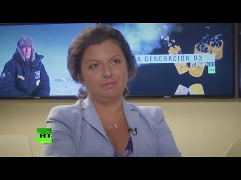 О признании RT иноагентом, работе западных СМИ и фейковых новостях — Симоньян в интервью AP