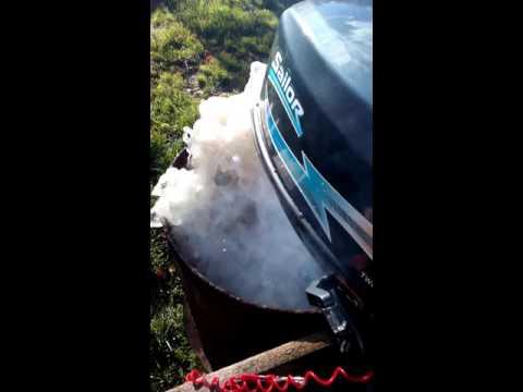 рекомендации по обкатке лодочного мотора