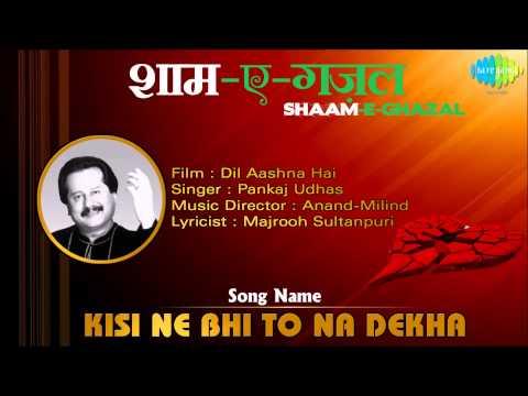 Kisi Ne Bhi To Na Dekha | Shaam-E-Ghazal | Dil Aashna Hai |...
