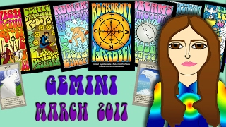 GEMINI  March  2017 Tarot psychic reading forecast predictions free
