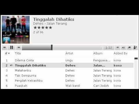 Dehes - Tinggal lah Dihatiku (MP3)