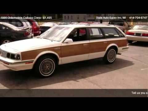 1986 Oldsmobile Cutlass Ciera L Cruiser Wagon - for sale in BURLINGTON, WI 53105