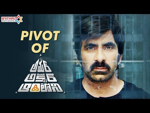 Pivot of Amar Akbar Anthony | Ravi Teja | Ileana | Sreenu Vaitla | Thaman S | Mythri Movie Makers