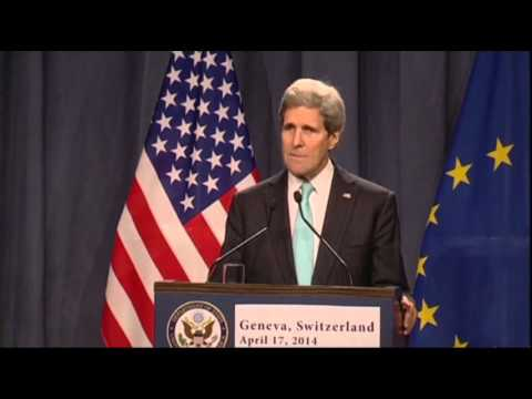 Diplomats Reach Deal to Ease Tensions in Ukraine